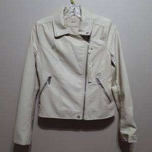 Blank NYC Faux Leather Womens Jacket